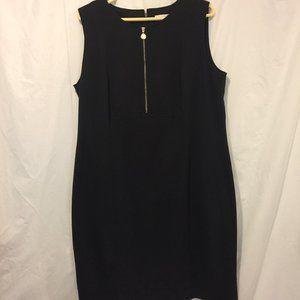 Calvin Klein Black Knit Dress 16W